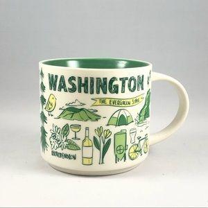 """Washington Starbucks """"Been There"""" Series Mug"""